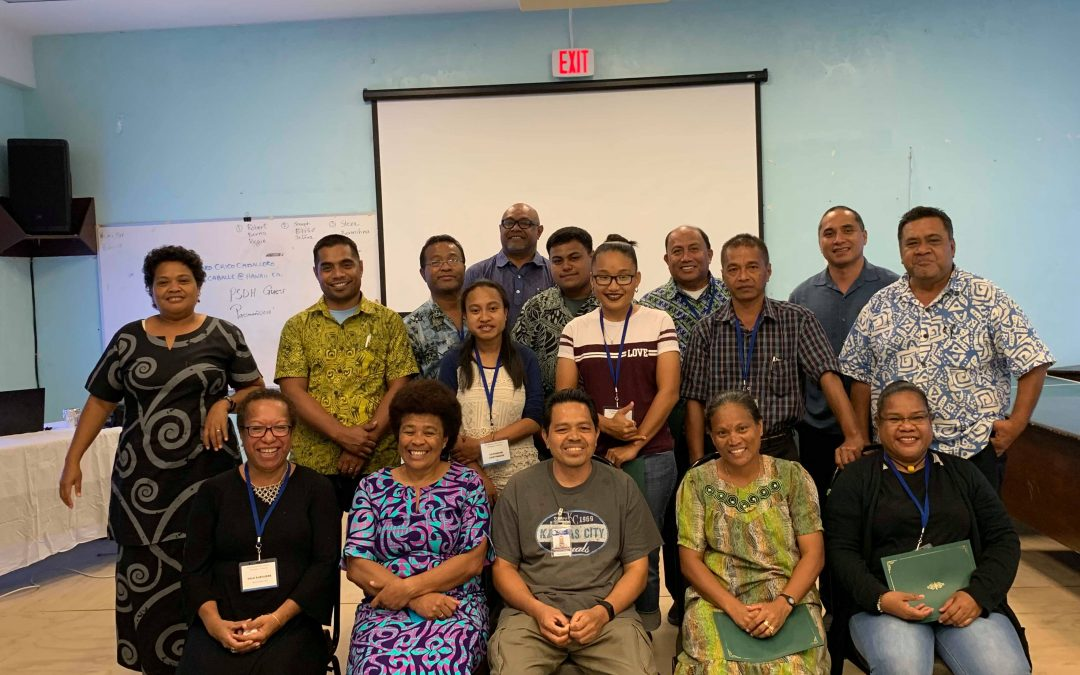 Blood-borne Pathogens Training held in Pohnpei, FSM