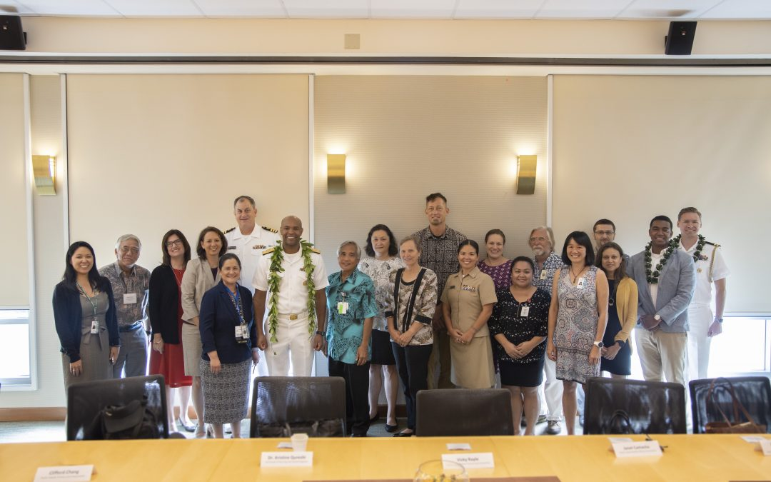 Round Table Discussion with US Surgeon General on Opportunities to Further Coordinate and Strengthen Partnerships to Improve Health and Healthcare in the USAPIs