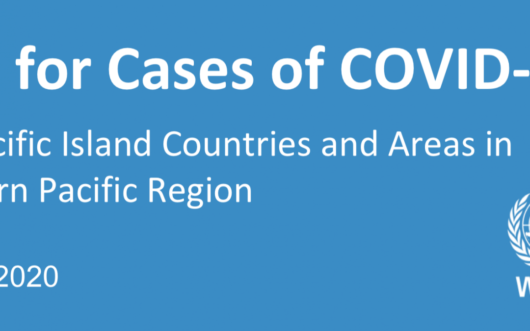 Preparing for COVID-19 : Guidance for Pacific Islands and areas in the WHO Western Pacific Region, V.1 – 14 February 2020
