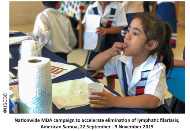 American Samoas Lymphatic Filariasis Elimination Campaign Featured in WPRO NTD News