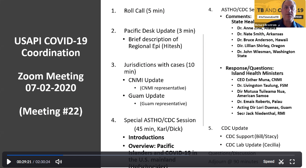 PIHOA E-Blast: Cultivating Collaboration on COVID-19 Across the Pacific