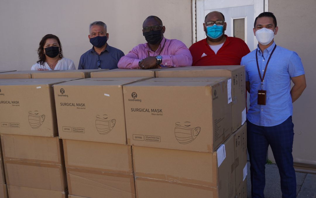 250,000 Surgical Masks Donated to the Guam Department of Health & Social Services