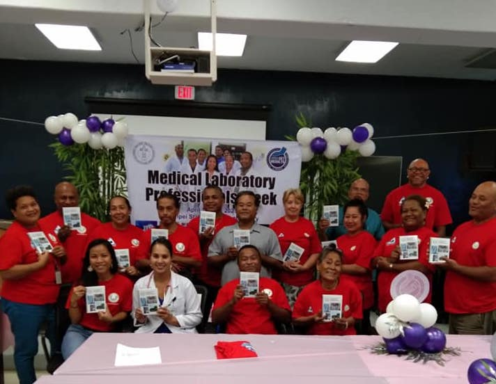 Pohnpei State Hospital becomes the first in the USAPI to roll out a Comprehensive Laboratory Handbook